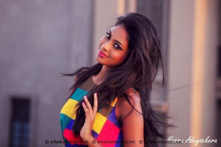Sri Lankan Model Ahinsa Lokudadalla