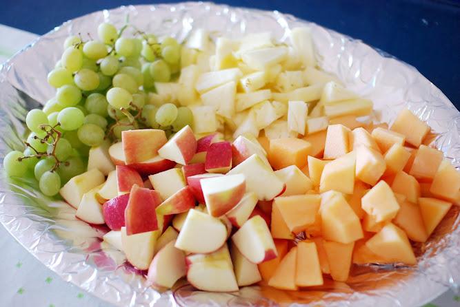 Aussie Australian BBQ Fresh Fruit Platter