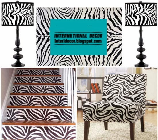 Zebra Print Decor Ideas For Interior Designs Zebra Print Decor In The