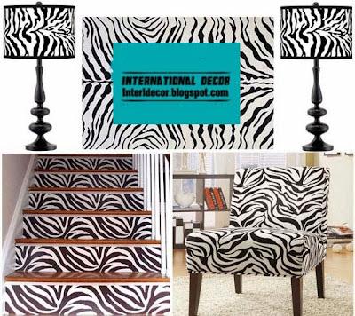 The best zebra print decor ideas for interior designs for Zebra home decorations