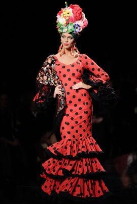 trajes de flamenca 2014 Rocío Peralta