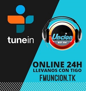 Disponible en TuneIn radio