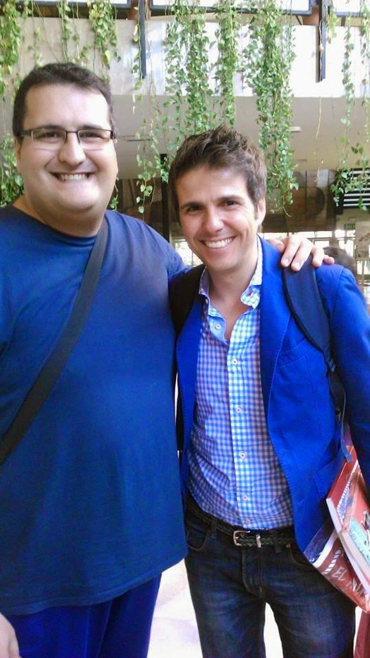Con Fernando Díaz de la Guardía