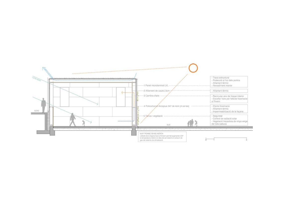 Bak 704 gimnasio escolar h arquitectes for Gimnasio 704 h arquitectes