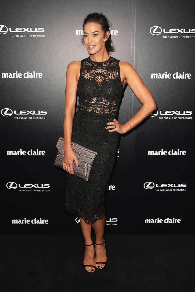 Actress, Model @ Megan Gale - 2015 Prix De Marie Claire Awards In Sydney