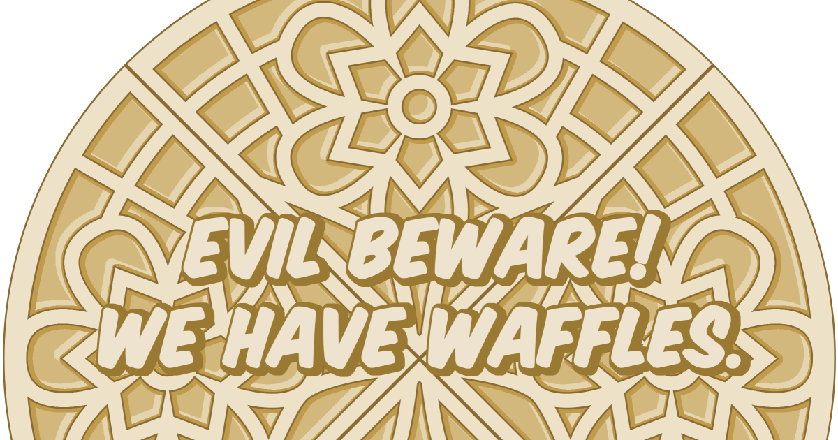 Waffles With Maple Syrup And Butter Coloring Pages