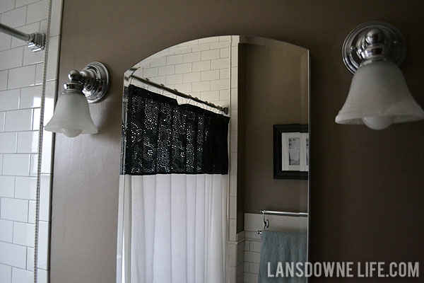 Project FAIL: Painted bathroom sconces | Lansdowne Life