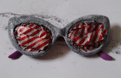Gafas de sol con purpurina en Recicla Inventa