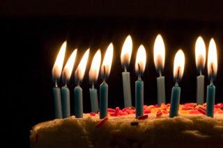 Le jour de mon anniversaire...