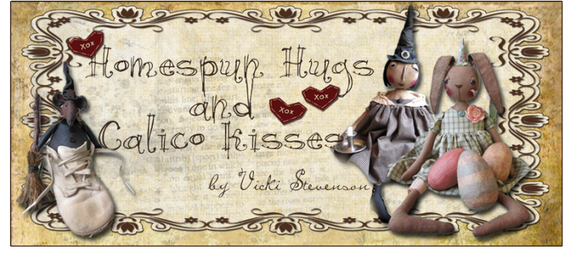 Homespun Hugs and Calico Kisses Primitives