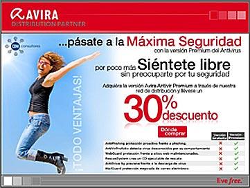 "NAVEGA SEGURO X LA RED con  ""AVIRA Antivir"""