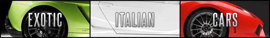 Exotic Italian Cars