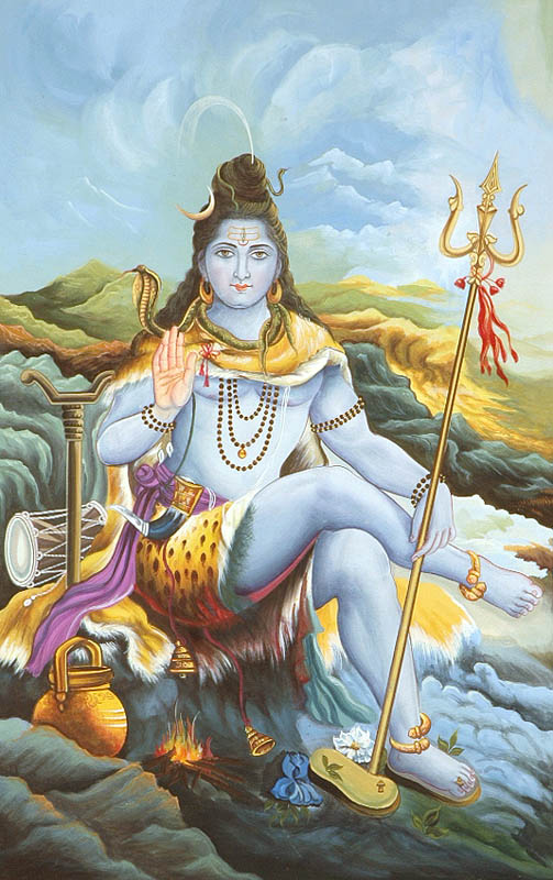 Shiva+stuti+at+mount+kailash