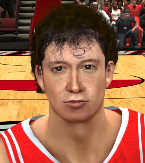 NBA 2K14 Omer Asik Face Mod