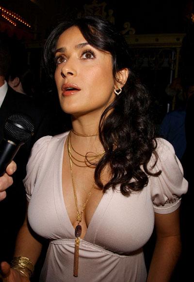 hair Salma Hayek and Francois salma hayek nud. Salma Hayek
