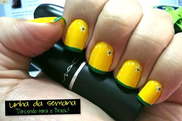 3 unhas decoradas para a Copa do Mundo - Brasil - YouTube