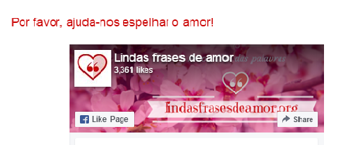 LINDAS FRASES DE AMOR é a nova parceria do Blog do Parceiro