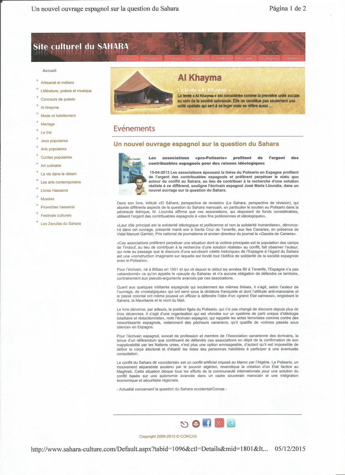 Site culturel du Sahara