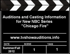 Actor and Extras Casting NBC Chicago Fire