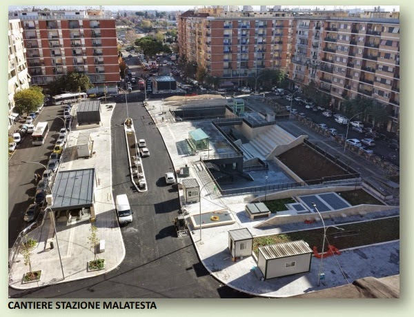 Roma fa schifo il problema della metro c in superficie for Arredo urbano roma