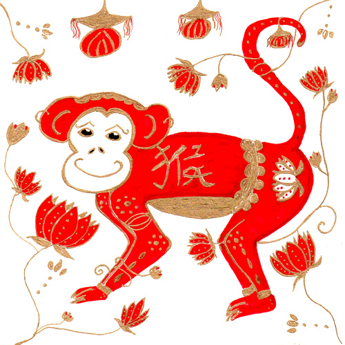 The monkey is #8 in the series of Chinese astrology animals. The ...