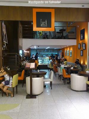 Lucca Cafés Especiais: Fachada