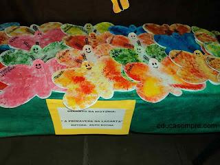 borboleta - pintura esponjada