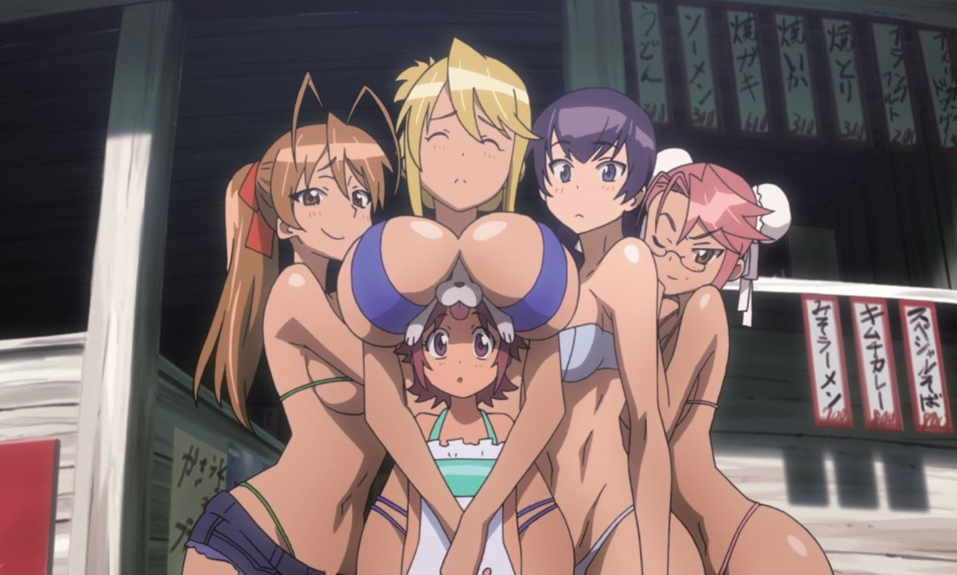 shizuka uncensored hentai The girls convince the guys to go foraging for food - from left: Rei,  Shizuka, Zero (being squished), Alice, Saeko, and Saya