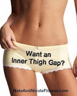 I want an inner thigh gap