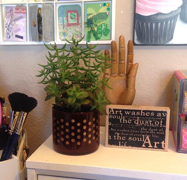 desktop succulent planter lisa fulmer
