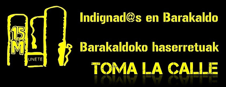 Indignad@s en Barakaldo
