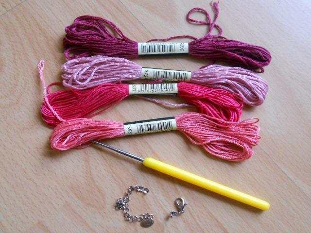 My Hobby Is Crochet Flower Necklace Hawaiian Dream Free Pattern