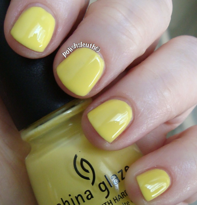 China Glaze's Sun Upon My Skin