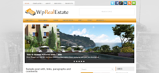 WpRealEstate Blogger Template is a Realestate Related Blogger Theme