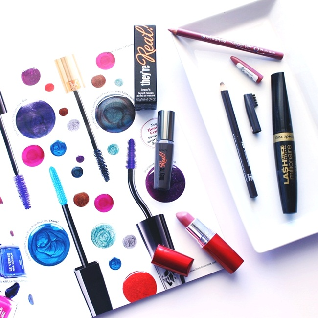 Jelena Zivanovic Instagram @lelazivanovic.Glam fab week.Makeup haul:Benefit,Essence,Maybelline,Miss Sporty.