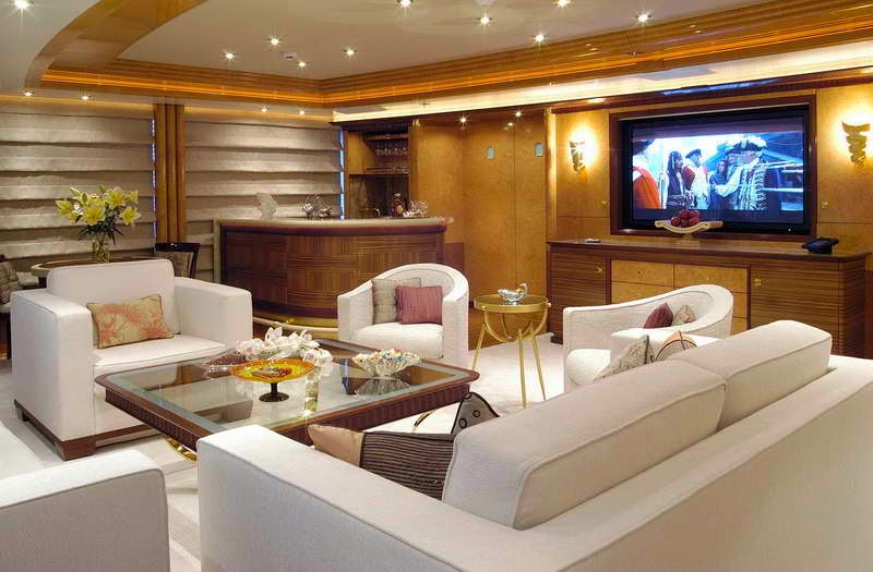 Small Yacht Of Interior Elegant And Beautiful For The Holidays Miscellaneous Garden