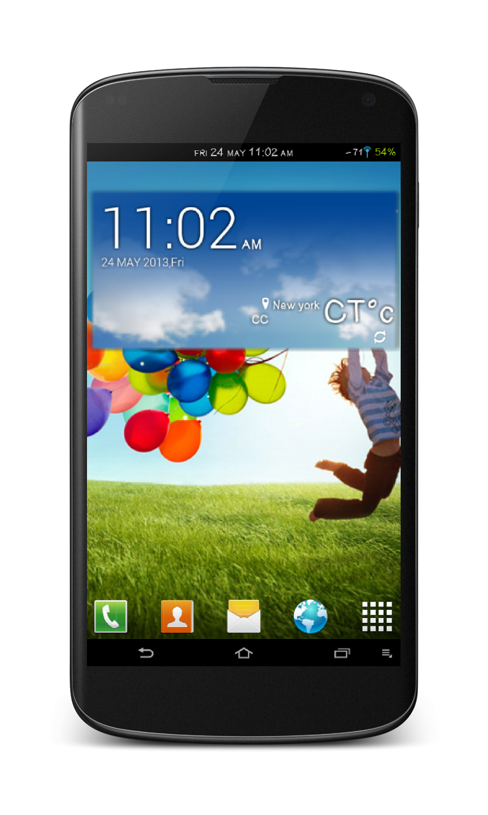 Samsung Galaxy S4 Logo...