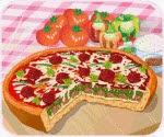 Bánh pizza hảo hạng, game ban gai