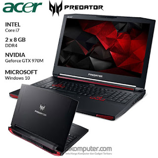 Harga Laptop Gaming Acer Predator 15