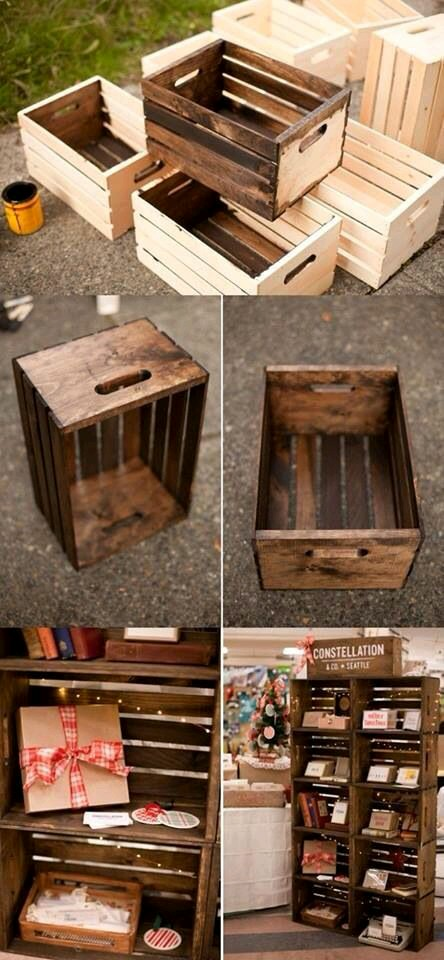 El detalle que hace la diferencia reutiliza caja for Rejas de madera