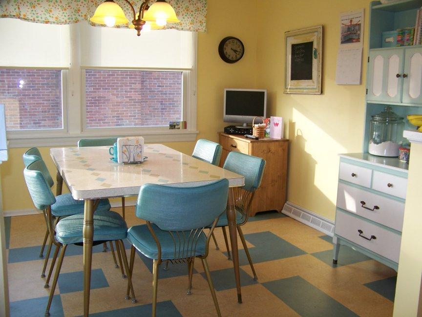Cuisines color es de style vintage d cor de maison for Cuisine 50 s