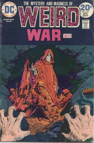 Weird War Tales #24