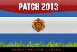 Patch+Argentina+Brasfoot+2013 Patch Argentina – Brasfoot 2013