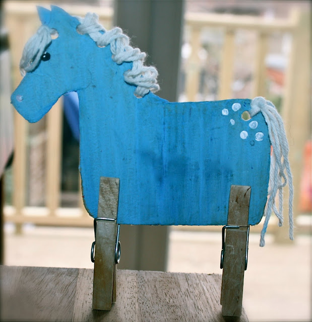 mrs fox's craft boxes for kids - Peg Leg Horse