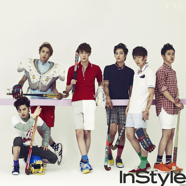 [PICTURE] 12.07.17 EXO-K For Instyle Photoshoot