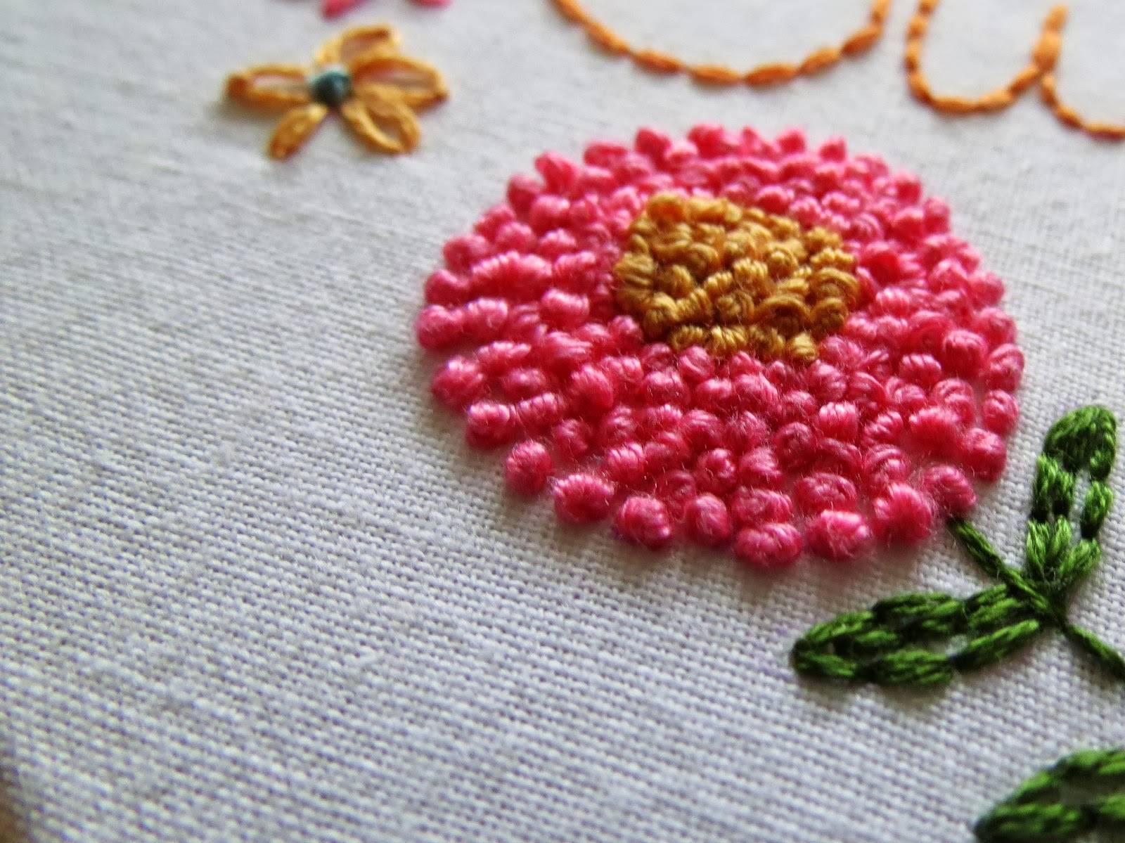 A Little Happy Place: How to stitch 'French Knots'