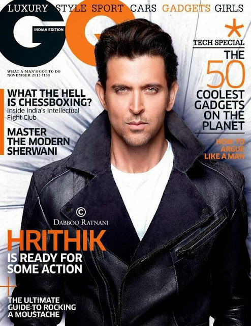 Hrithik Roshan on cover for GQ India