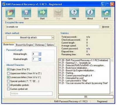 WinRar Password Remover and Finder