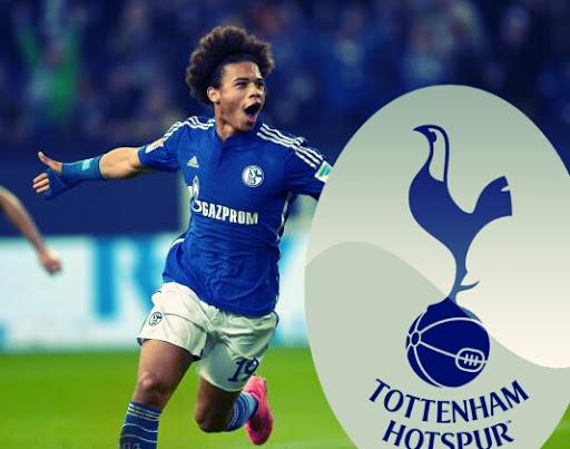 Promessa do Schalke, Leroy Sané desperta o interesse do Tottenham.
