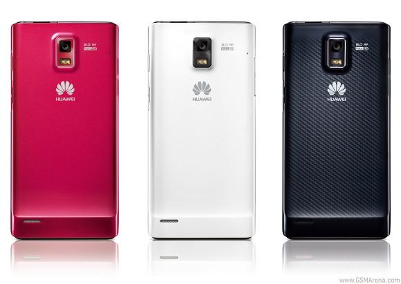 Huawei Ascend P1 Ponsel stylish nan tipis